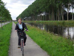 Biking to Holland