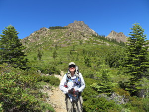 Infamous Sierra Buttes Climb