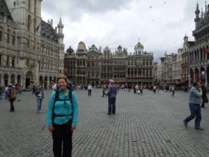 Arriving in Belgium