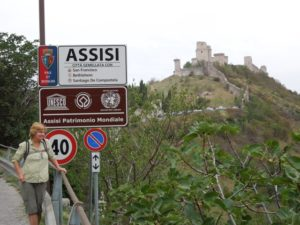 Arriving In Assisi